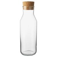 ИКЕА/365+ Графин с пробкой, прозрачное стекло, пробка