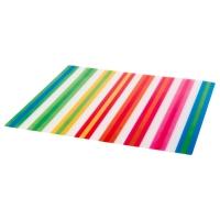 ПОББИГ Салфетка под прибор, в полоску, разноцветный