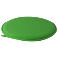 ЦИЛЛА Подушка на стул, зеленый