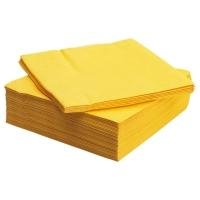 ФАНТАСТИСК Салфетка бумажная, желтый