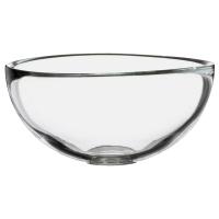 БЛАНДА Сервировочная миска, прозрачное стекло