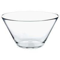 ТРЮГГ Миска сервировочная, прозрачное стекло