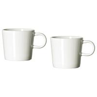 СТОКГОЛЬМ Чашка для кофе эспрессо, белый