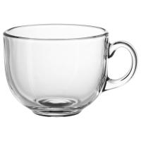 УППГРАДЕРА Чашка большая, прозрачное стекло