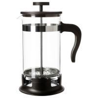 УПХЕТТА Кофе-пресс/заварочный чайник, стекло, нержавеющ сталь