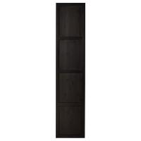 ХЕМНЭС Дверь, черно-коричневый