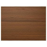 ИЛЬСЕНГ 4 панели д/рамы раздвижной дверцы, коричневая морилка ясеневый шпон