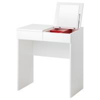 БРИМНЭС Туалетный столик, белый