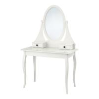 ХЕМНЭС Туалетный столик с зркл, белый