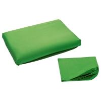 ДВАЛА Наволочка для эргоном подушки, зеленый