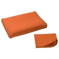 ДВАЛА Наволочка для эргоном подушки, оранжевый