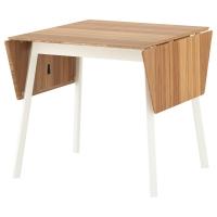 ИКЕА ПС 2012 Стол c откидными полами, бамбук, белый