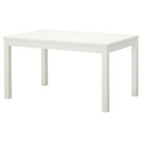 БЬЮРСТА Раздвижной стол, белый