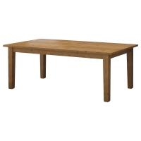 СТУРНЭС Раздвижной стол, морилка,антик
