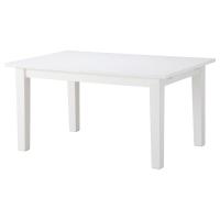 СТУРНЭС Раздвижной стол, белый