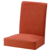 ХЕНРИКСДАЛЬ Чехол на стул, Шифтебу темно-оранжевый