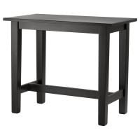 СТУРНЭС Барный стол, коричнево-чёрный