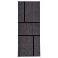 КЁГЕ Придверный коврик, серый, черный