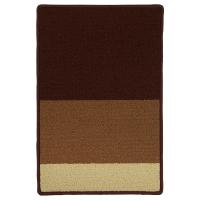 СТАВН Придверный коврик, бежевый/коричневый