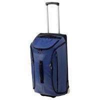 УПТЭККА Спортивная сумка на колесиках, темно-синий
