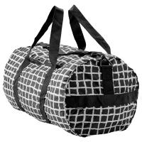КНЭЛЛА Спортивная сумка, черный, белый