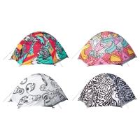 СПРИДД 2-местная палатка, различные орнаменты