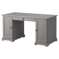 ЛИАТОРП Письменный стол, серый