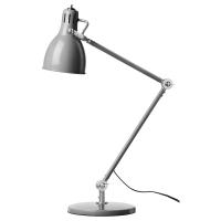 АРЁД Лампа рабочая, серый