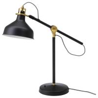 РАНАРП Лампа рабочая, черный