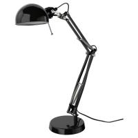 ФОРСО Лампа рабочая, черный