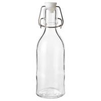 СОММАР 2017 Бутылка с пробкой, прозрачное стекло