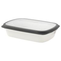ИКЕА/365+ Контейнер, белый, серый