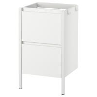 ИДДИНГЕН Шкаф для раковины, белый