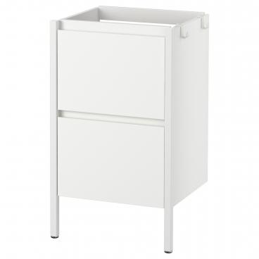 ИДДИНГЕН шкаф для раковины белый