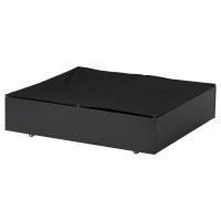 ВАРДО Ящик кроватный, черный