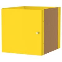 КАЛЛАКС Вставка с дверцей, желтый