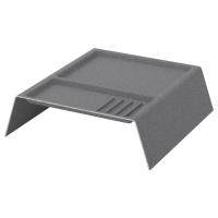 КАЛЛАКС Модуль для хранения с отделениями, темно-серый