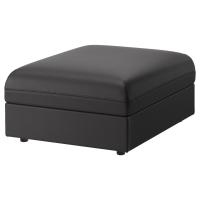 ВАЛЛЕНТУНА Секция дивана, Хилларед темно-серый