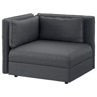 ВАЛЛЕНТУНА Секция дивана со спинкой