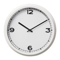 ПУГГ часы настенные белые