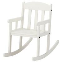 СУНДВИК кресло-качалка детское белое