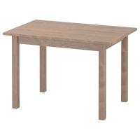 СУНДВИК стол детский серо-коричневый