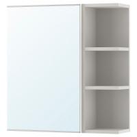 ЛИЛЛОНГЕН шкафчик зеркальный с дверцей и торцевой секцией