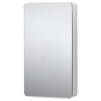 БРИККАН шкафчик зеркальный белый