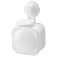 СТУГВИК дозатор для жидкого мыла на присоске белый
