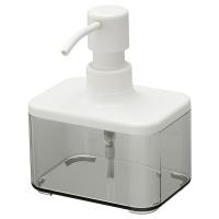 БРОГРУНД дозатор для жидкого мыла прозрачный