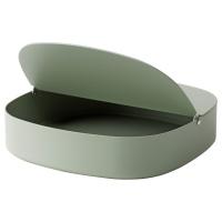 ЮППЕРЛИГ ящик с крышкой зеленый