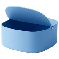 ЮППЕРЛИГ ящик с крышкой синий