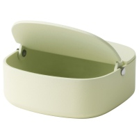 ЮППЕРЛИГ ящик с крышкой светло-зеленый
