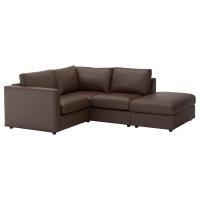 ВИМЛЕ 3-местный угловой диван